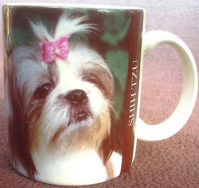 Ceramic Shih Tzu Dog Mug Coffee Cup Xpress Photo Barbara Augelio