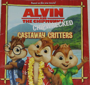 Alivin and the Chipmuncks Toys & Chipwrecked Book (Lot # 3) London Ontario image 1