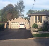 New Sudbury with oversized heated detached garage!!!
