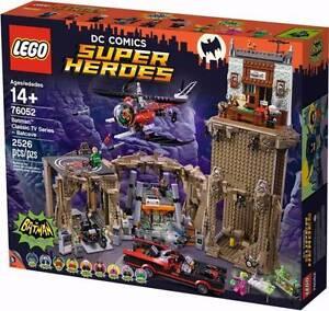 LEGO 76052 Bat Cave Batcave Batman BUILT ONCE Darling Point Eastern Suburbs Preview