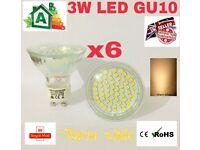 LED 3W GU10 LAMPS