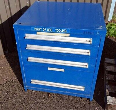 Four-drawer Tooling Storage Cabinet Inv.24868
