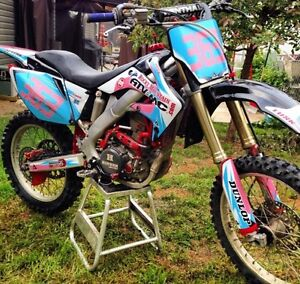2007 crf250r parting out