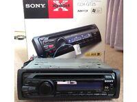 Sony CDX-GT25 car radio, MP3/CD AUX input
