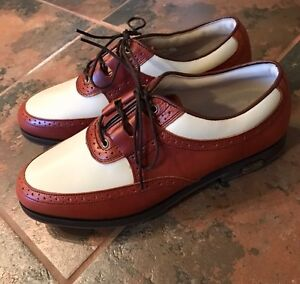 New Women's Leather Golf Shoes Size 8.5 $50 obo