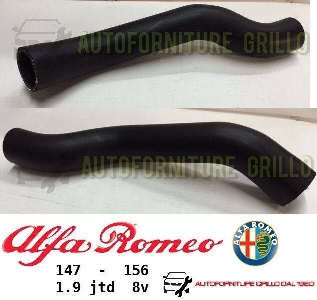 TUBO MANICOTTO INTERCOOLER INFERIORE SCAMBIATORE ALFA ROMEO 147 / 156 - 1.9 JTD