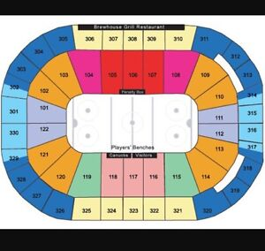 Vancouver Canucks Tickets 2016/2017
