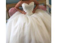 Mori Lee Designer Wedding Dress 14/16/18
