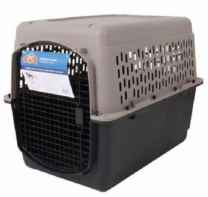 Plastic Dog Cages & Carriers (Various Sizes) - AIRLINE APPROVED