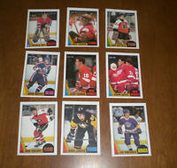 1987-88 O-PEE-CHEE - COMPLETE 264-CARD SET EX/NM