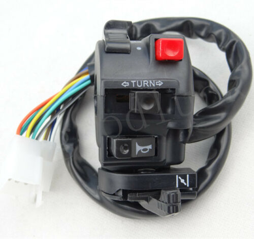 Kill Light Start Horn Indicators Handlebar Switch Assembly Quad ATV Pit Bike