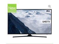 "70"" SAMSUNG Smart 4K Ultra HD HDR LED TV UE70KU6000 reduced"