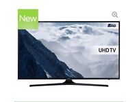 "43"" SAMSUNG Smart 4k Ultra HD HDR LED TV UE43KU6000 warranty and delivered"