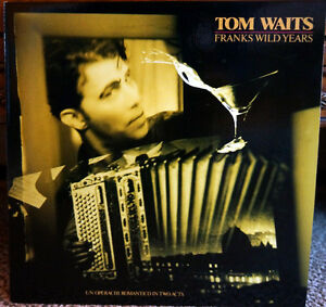 "33 tours VINYLE  TOM WAITS ""Franks Wild Years"" 1987"