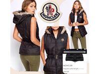Ladies moncler gilet jacket not polo mk pandora armani