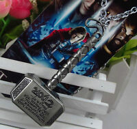 THORS HAMMER PENDENT ON CHAIN - MARVEL