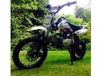 Brand new cw bikes pro 110 pitbike/mini bike/mx/motocross/same as stomp/Welsh pitbike/demon x