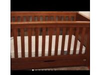 Ocean cot bed - OAK - Mamas and Papas