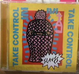 "Slaves ""Take control"" CD. Brand new."
