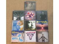 Job lot of 24 Trance and Techno music mix CD compilation from artists such as Armin Van Buuren