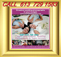 FREE Hair Style And Wedding Photography $399 SAVEat 613 729 1583