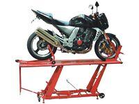 Biketek motorbike lift