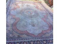 ~Beautiful cream Persian carpet -From Iran~