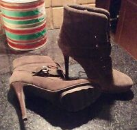 Guess Brown Suede Boots 7-1/2