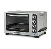 Convection KitchenAid 12 in. Counter-top Oven in Contour Silver