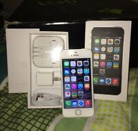 iPhone 5s  32gb  Bell&virgin **mint
