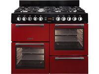 Leisure dual fuel brand new range cooker CK100f232R 100cm