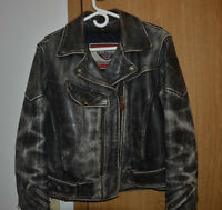 First Gear Ladies M Leather Jacket and Chaps