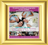 Free Makeup+Wedding Photography FROM $299 CALL  613  729 1583