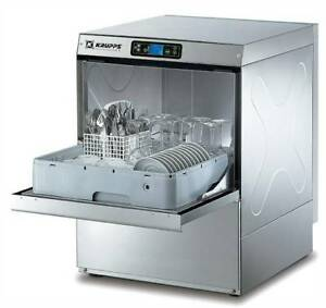 Under Counter & High Volume  Commercial Dishwashers