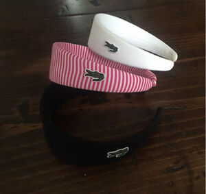 Group of 3 Lacoste Headbands
