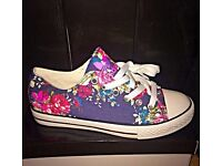 Brand New Ladies Adidas, Converse Plump Trainers ' Perfect Ladies'