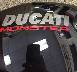 Ducati Monster 1100 EVO tank fairing plastic decoration man cave