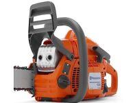 "Husqvarna 135 14"" chainsaw"