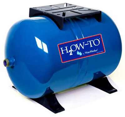 Water Worker 14 Gallon HT-14HB Pre-Charged Water Well Horizontal Pressure Tank