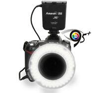 Flash annulaire AHL-100 CRI 95+ ring flash macro pr Nikon Canon