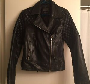 All Saints women's  leather jacket