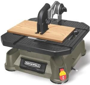 New rockwell rk7323 scroll saw bladerunner x2 table top for Table th no scroll