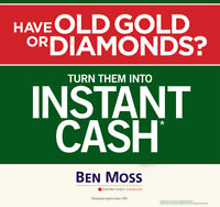 Have old Gold or Diamonds? Experience the Ben Moss Difference!