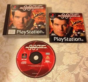 007 TOMORROW NEVER DIES SONY PLAYSTATION PAL GERMAN RARE