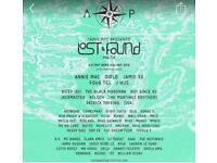 Lost and found festival ticket 2018