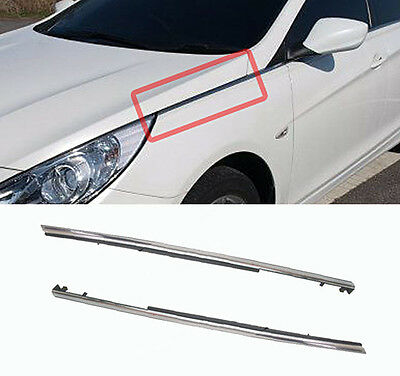 Genuine Front Fender Molding Trim LH RH 2p For 2011-2014 Hyundai i45 : Sonata