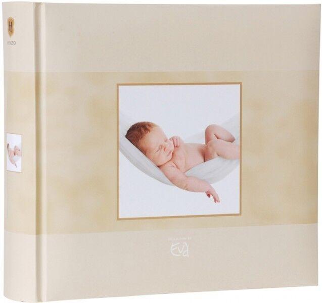 HENZO Baby Einsteckalbum Babyalbum Babyfotoalbum Fotoalbum Memoalbum f.200 Fotos