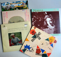 Lot of 5 vintage World Beat records / disques / vinyl / LPs / 33