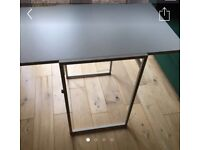 IKEA fold out minimalist white desk