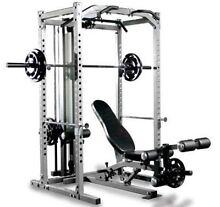 NEW WEIGHTS COMMERCIAL GRADE POWER CAGE & BENCH LAT PULL Osborne Park Stirling Area Preview